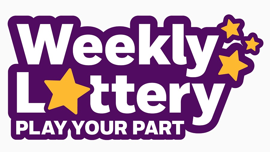 Weekly Lottery Play Your Part logo