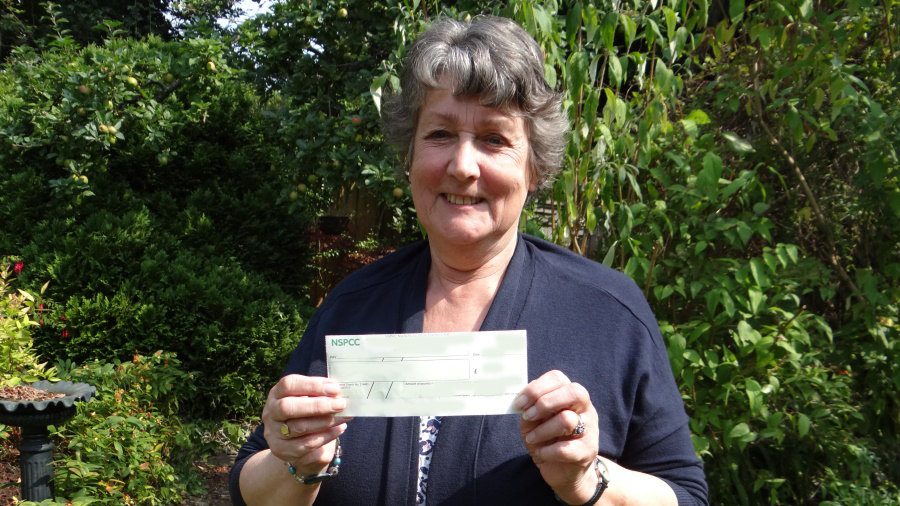 NSPCC Weekly Lottery winner